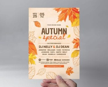 Autumn Flyer Template (Front)