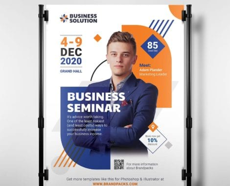 Corporate Event Poster/Banner Template