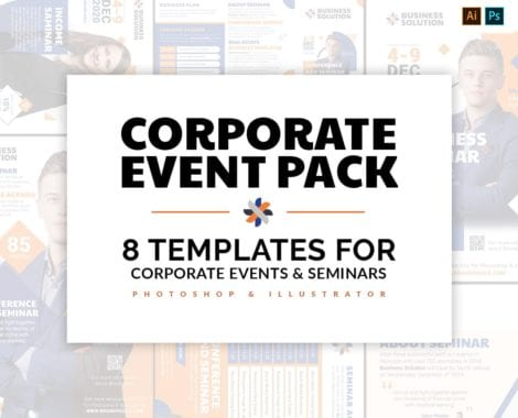 Corporate Event Templates Pack