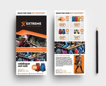 Sports Outlet DL Card Templates