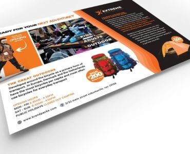 Sports Outlet Flyer Template