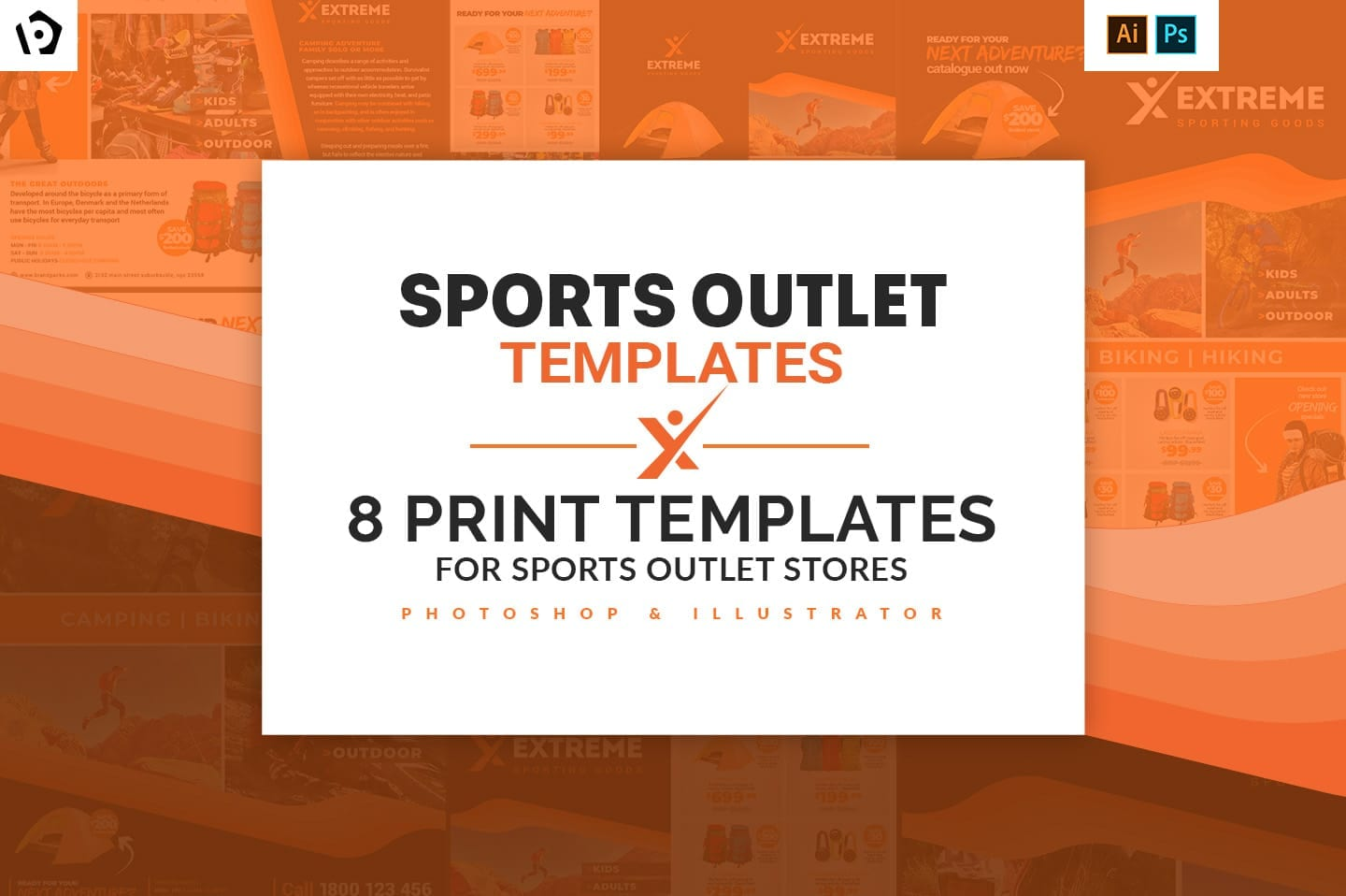 Sports Outlet Templates Pack