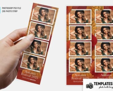 Autumn/Fall Photo Booth Template