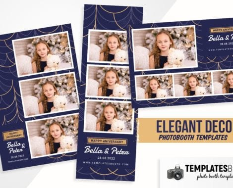 Elegant Deco Photo Booth Template