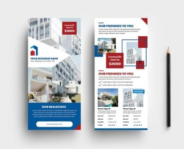 Real Estate DL Card Template Vol.3