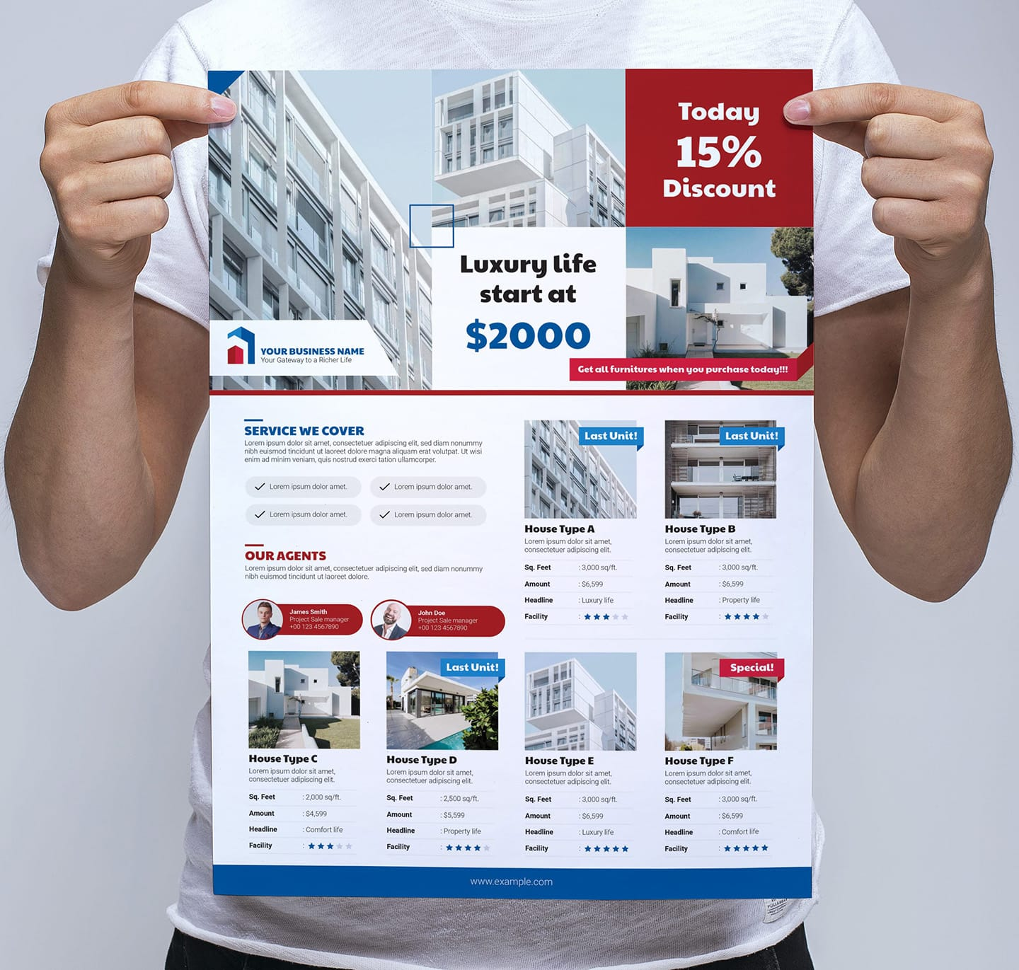 Real Estate Poster/Banner Template Vol.3