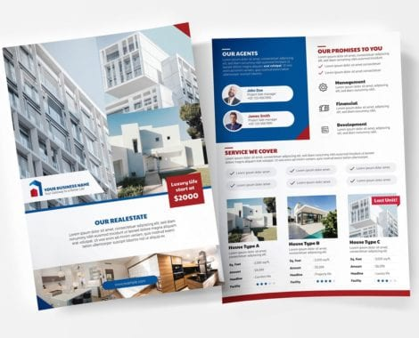 Real Estate Poster/Flyer Templates Vol.3