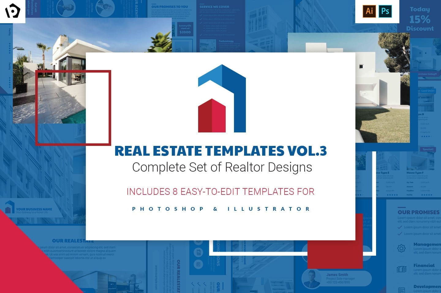 Real Estate Templates Pack Vol.3