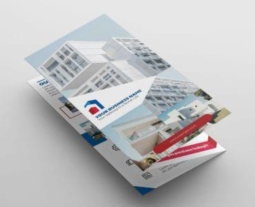 Real Estate Tri-Fold Brochure Template Vol.3