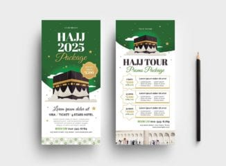 Hajj DL Card Template