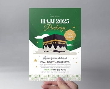Hajj Flyer Template (Front)