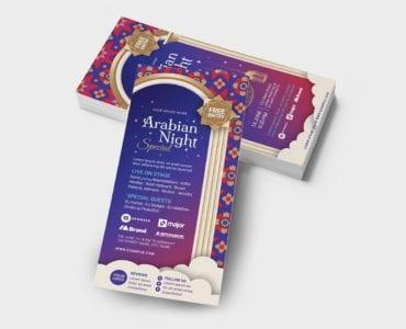 Arabian Nights DL Card Template (Back)