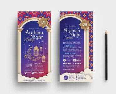Arabian Nights DL Card Template