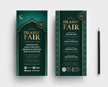Islamic DL Card Template
