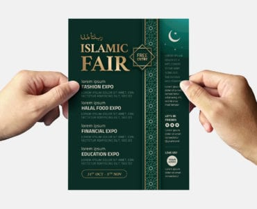 Islamic Flyer Template (back)