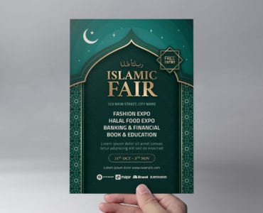 Islamic Flyer Template (front)