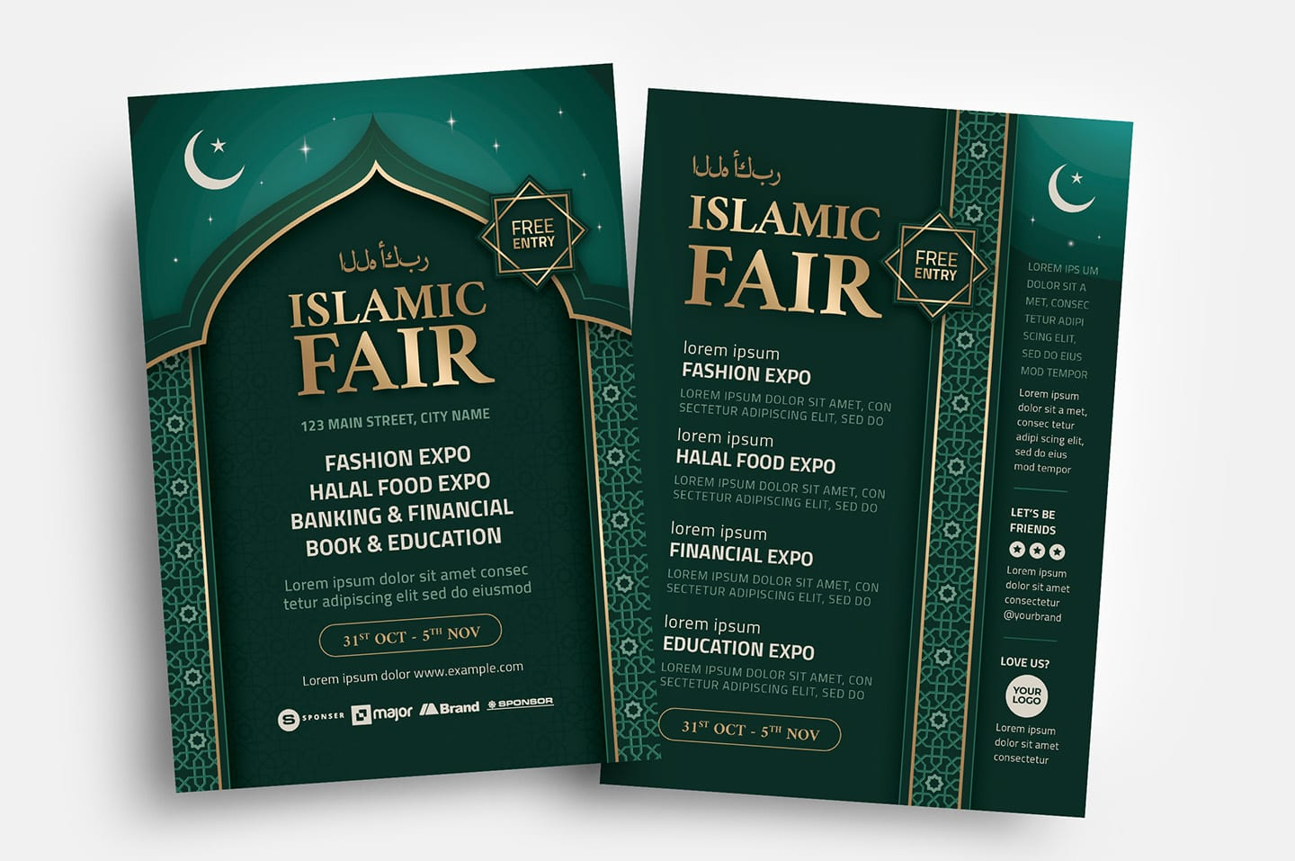 Islamic Flyer Templates