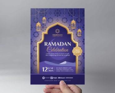 Ramadan Iftar Flyer Template (Front)