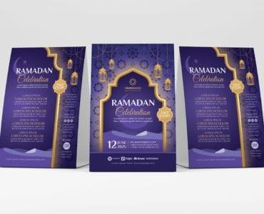 Ramadan Iftar Flyer Template (Table Tent)