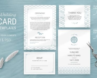 Elegant Wedding Invitation Flyer Template