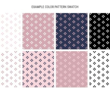 Example Pattern Swatches