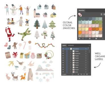 Winter Graphics Pack Illustrations