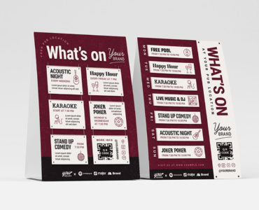 What's On Flyer Template (PSD, Ai, Vector)