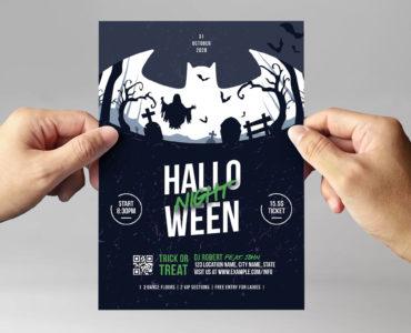 Halloween Flyer Template (PSD, Ai, Vector)
