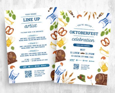 Oktoberfest Event Flyer Template (PSD, Ai, Vector)