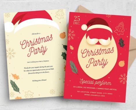 Christmas Flyer (PSD, AI, Vector Formats)