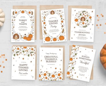 Greetings Cards (PSD, AI, Vector Formats)